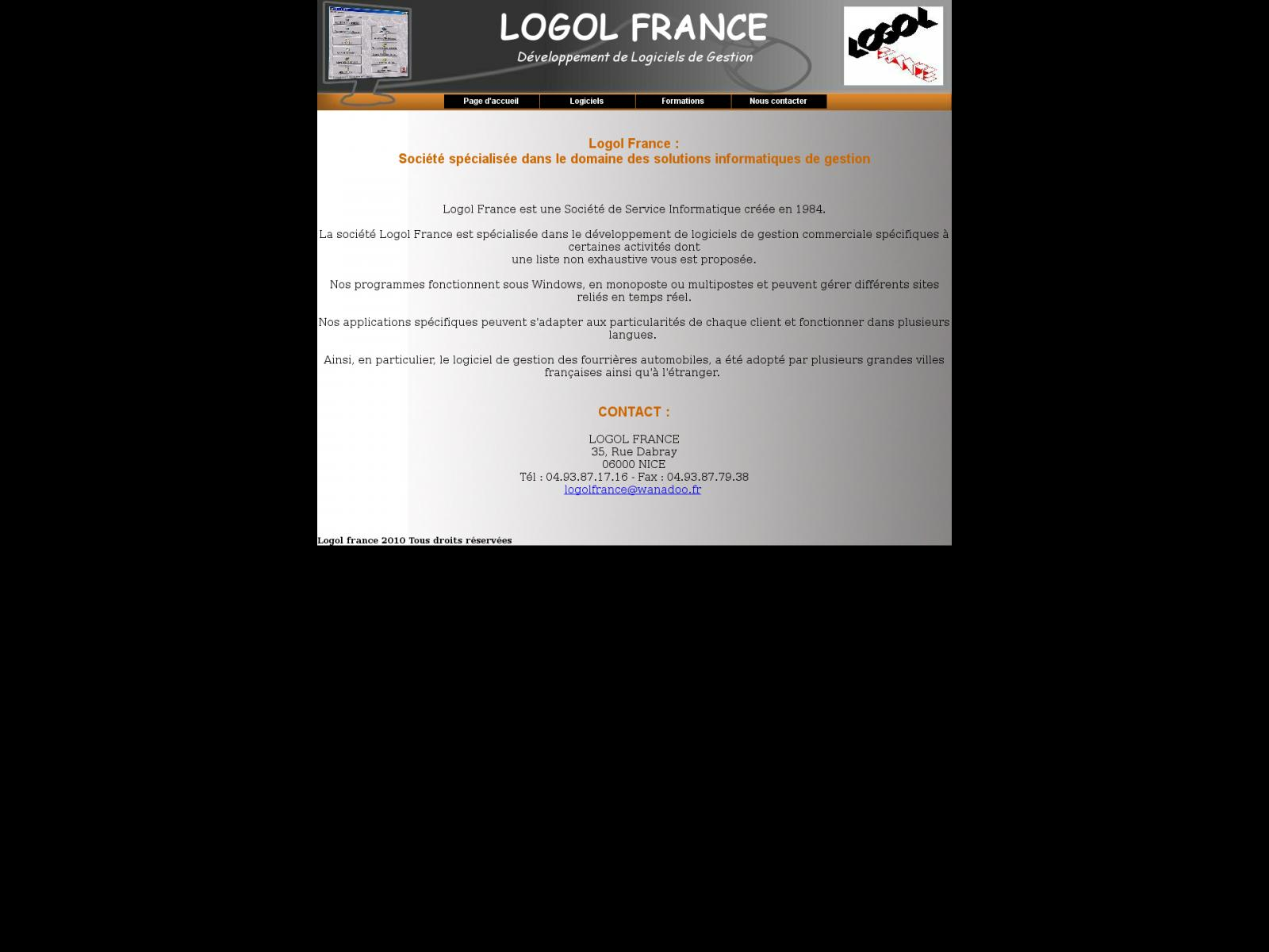 LOGOL FRANCE NICE