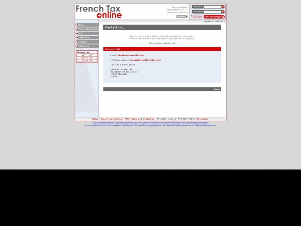 FRENCH TAX ONLINE ANTIBES
